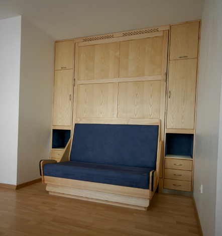 Paul Blanc Menuiserie - Nos réalisations de meubles - Chambre